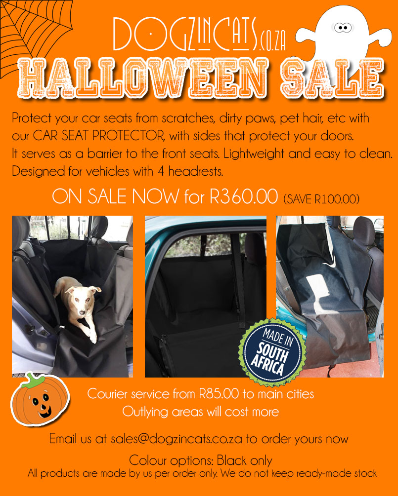 Car seat protector sale HALLOWEEN